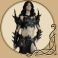 LARP Female Armour Full Set Witch Elf